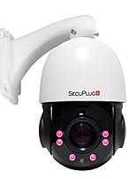 abordables -1080p hd cámara IP exterior ptz 30x zoom óptico 2mp ir cámara domo de visión nocturna