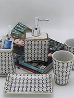 cheap -Bathroom Accessory Set New Design Contemporary Ceramic 5pcs - Bathroom Single