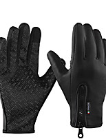 cheap -ROCKBROS Full Finger Unisex Motorcycle Gloves Polyster Waterproof / Keep Warm / Breathable