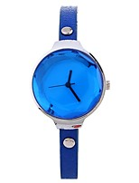 cheap -Xu™ Women's Dress Watch / Wrist Watch Chinese Creative / Casual Watch / Large Dial PU Band Casual / Fashion Black / Blue / Red