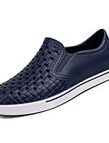abordables -Homme Chaussures Polyuréthane Printemps Confort Mocassins et Chaussons+D6148 Noir / Gris / Bleu