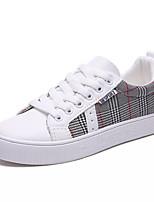 economico -Per donna Scarpe Di corda / PU (Poliuretano) Estate Comoda Sneakers Piatto Punta tonda Bianco / Beige