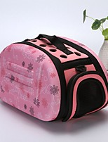 cheap -Dogs / Rabbits / Cats Cages / Carrier & Travel Backpack / Shoulder Bag Pet Carrier Portable / Mini / Camping & Hiking Geometric / Fashion / Lolita Gray / Pink / Black