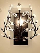 baratos -Novo Design Moderno / Contemporâneo Luminárias de parede Sala de Estar / Quarto Metal Luz de parede 220-240V 60 W