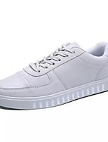 economico -Per uomo Scarpe Tessuto Primavera & Autunno Suole leggere Sneakers Nero / Grigio / Rosso