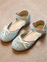cheap -Girls' Shoes PVC(Polyvinyl chloride) Spring & Summer Flower Girl Shoes Sandals Buckle for Kids White / Blue / Wedding