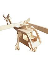 economico -Modellini di legno / Giocattoli di logica e puzzle Aereo Scuola / Nuovo design / Livello professionale di legno 1 pcs Per bambini / Teen Tutti Regalo