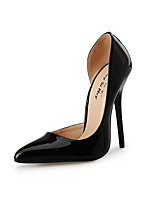 cheap -Women's Shoes PU(Polyurethane) Fall & Winter Basic Pump Heels Stiletto Heel Pointed Toe Black / Red / Wedding / Party & Evening