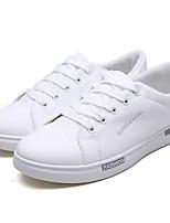 cheap -Men's Shoes PU Spring & Fall Light Soles Sneakers Gray / Black / White / White / Blue