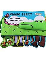Недорогие -Игрушка для обучения чтению Животные / 3D / Читая книгу Детские Подарок 1 pcs