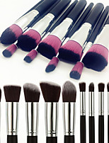 cheap -10-Pack Makeup Brushes Professional Makeup Brush Set Artificial Fibre Brush / Nylon Brush Eco-friendly / Professional / Soft Wooden / Bamboo