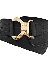 cheap -Women's Basic / Street chic Wide Belt - Solid Colored