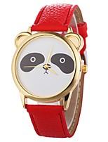Недорогие -Xu™ Жен. Наручные часы Китайский Творчество / Cool / Крупный циферблат PU Группа минималист / Скелет Черный / Белый / Синий