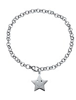 abordables -Bracelet de cheville - Etoile Mode, Le style mignon Argent Pour Cadeau / Quotidien / Femme