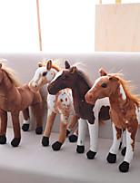 Недорогие -Лошадь Мягкие и плюшевые игрушки Животные / Очаровательный Акрил / хлопок Подарок 1 pcs