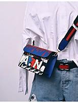 cheap -Women's Bags PU(Polyurethane) Shoulder Bag Pattern / Print Blue