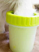 abordables -Lavable / Décontracté / Quotidien Vêtements pour chiens Nettoyage Couleur Pleine Rose Claire / Bleu Ciel / Vert Chiens / Lapins / Chats