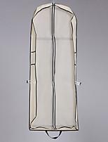 Недорогие -Один слой Modern Свадебные вуали Сумки для одежды С Однотонные 59,06 В (150см) Смесь хлопка и полиэстера