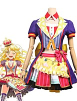 economico -Ispirato da BanG Dream Cosplay Anime Costumi Cosplay Abiti Cosplay Altro Manica corta Cappotto / Gonna / Arco Per Unisex