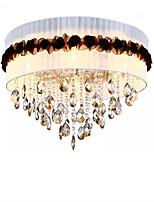 abordables -QIHengZhaoMing 6 lumières Montage du flux Lumière d'ambiance - Cristal, 110-120V / 220-240V, Blanc Crème, Ampoule incluse