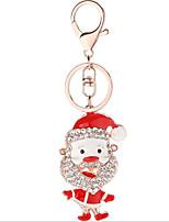 economico -Costumi da Babbo Natale / Cartone animato Bomboniere Portachiavi Lega di zinco Bomboniere portachiavi - 1 pcs Per tutte le stagioni