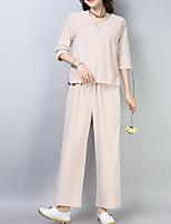 cheap -Women's Shirt - Striped Pant