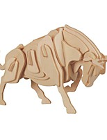 cheap -Wooden Puzzle / Logic & Puzzle Toy Bull School / New Design / Professional Level Wooden 1 pcs Kid's / Teen All Gift