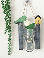 cheap -1pc Wood / Glass European StyleforHome Decoration, Decorative Objects Gifts
