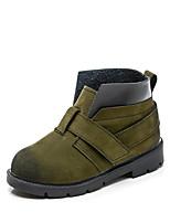 Недорогие -Мальчики Обувь Полиуретан Весна & осень Удобная обувь Ботинки Для прогулок для Дети Зеленый