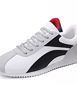 cheap -Men's Light Soles Canvas Summer Sneakers Color Block White / Blue / Black / White