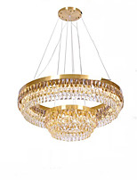 cheap -QIHengZhaoMing 2-Light Crystal Chandelier Ambient Light 110-120V / 220-240V, Warm White, Bulb Included / 15-20㎡ / LED Integrated