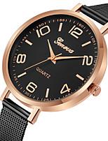 preiswerte -Geneva Damen Kleideruhr / Armbanduhr Chinesisch Neues Design / Armbanduhren für den Alltag / Cool Legierung Band Freizeit / Modisch