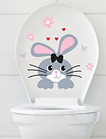 cheap -Toilet Stickers - Animal Wall Stickers Animals Bathroom