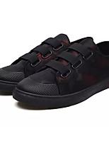 economico -Per uomo Scarpe PU (Poliuretano) Estate Comoda Sneakers Nero / Rosso