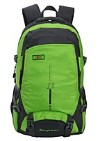 cheap -40 L Hiking Backpack - Rain-Proof, Wearable, Breathability Outdoor Hiking, Camping, Team Sports Nylon Green, Blue, Violet