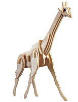 economico -Modellini di legno / Giocattoli di logica e puzzle Giraffa Scuola / Nuovo design / Livello professionale di legno 1 pcs Per bambini / Teen Tutti Regalo