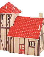 cheap -Wooden Puzzle / Logic & Puzzle Toy House School / New Design / Professional Level Wooden 1 pcs Kid's / Teen All Gift