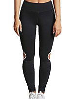 cheap -Women's Daily Basic Legging - Solid Colored, Print Mid Waist