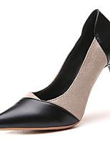 abordables -Mujer Zapatos PU Verano Pump Básico Tacones Tacón Stiletto Dedo Puntiagudo Beige / Amarillo / Rosa / Fiesta y Noche