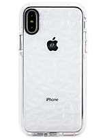 billiga -fodral Till Apple iPhone X / iPhone 8 Ultratunt Skal Färggradient Mjukt TPU för iPhone X / iPhone 8 Plus / iPhone 8