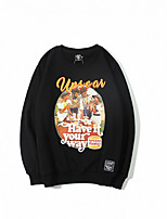 cheap -Men's Street chic Sweatshirt - Letter