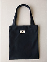 cheap -Unisex Bags Canvas Tote Zipper White / Black