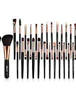 cheap -30 Makeup Brushes Professional Makeup Brush Set / Blush Brush / Eyeshadow Brush Nylon fiber Full Coverage Wooden / Bamboo
