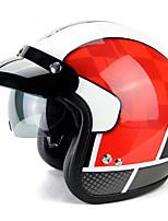 abordables -YOHE YH-859 Casque Bol Adultes Unisexe Casque de moto Respirable / Déodorant / Anti-transpiration