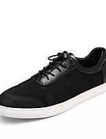 cheap -Men's Canvas Summer Comfort Sneakers White / Black / Blue