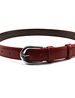 cheap -Women's Work / Active Skinny Belt - Solid Colored