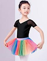 abordables -Danse classique Tutus & Jupes Fille Entraînement / Utilisation Polyester Ruché Taille haute Jupes