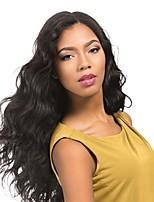 cheap -Remy Human Hair Lace Front Wig Wig Brazilian Hair / Body Wave Wavy 130% Density With Baby Hair / Soft / Natural Hairline Natural Women's Short / Long / Mid Length Human Hair Lace Wig