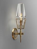 baratos -Cristal Vintage Luminárias de parede Sala de Estar / Corredor Metal Luz de parede 220-240V 40 W