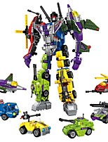 cheap -Building Blocks 506 pcs Car / Helicopter / Robot Transformable Gift